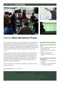 Pelatihan 'Project Cycle Management' (PCM)